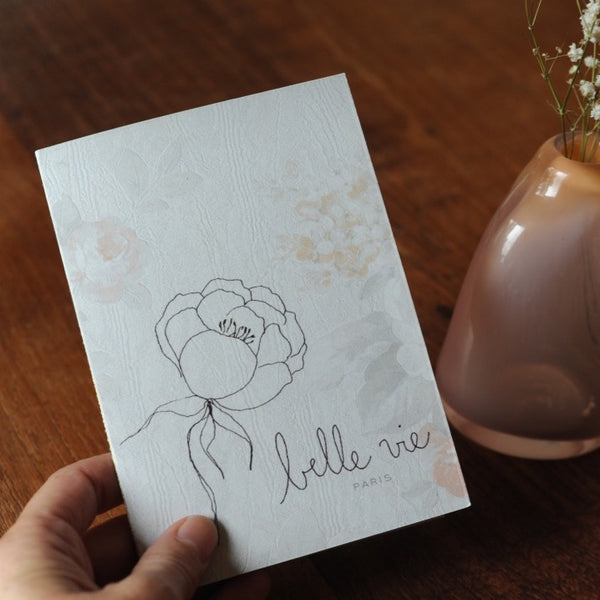 """Belle Vie"" Notebook"
