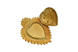Stars Heart Gold Prayer Box Ex-Voto