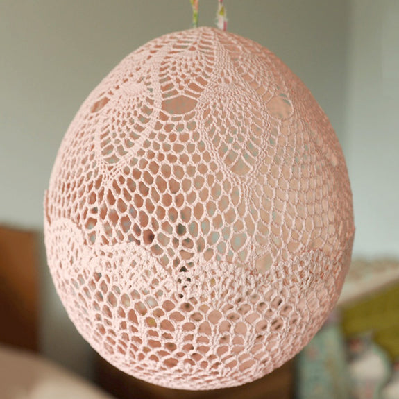 Pink Lace Balloon