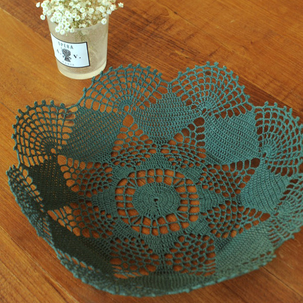Fir Green Basket