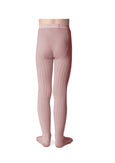 Ribbed Tights Faded Rose