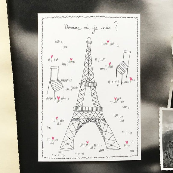 Tour Eiffel Card
