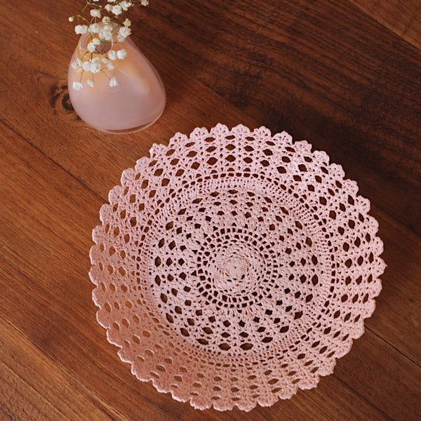 Powder Pink Basket