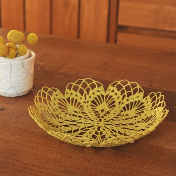 Mustard Yellow Basket