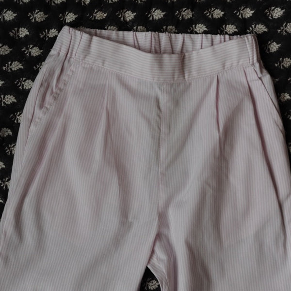 Chaplin Pant Pale Pink stripes