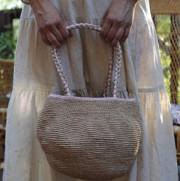 Madrague Raffia Basket M
