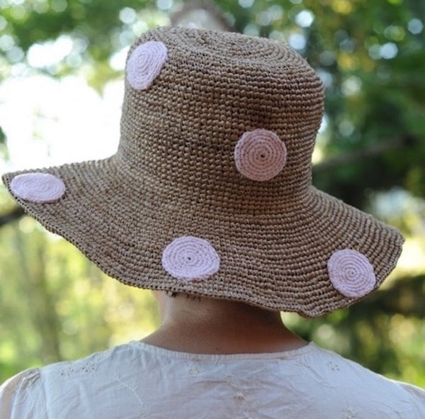 Woman Straw Dot Hat
