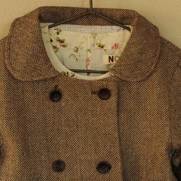 Chevron Coat Chocolate