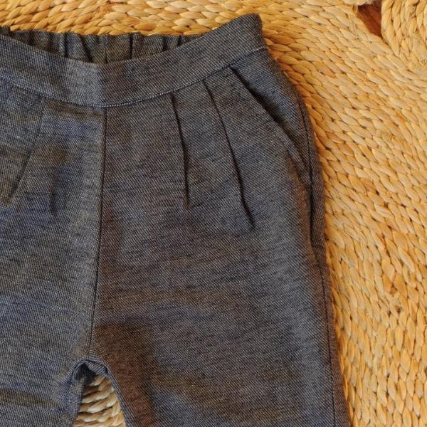 Druze Tweed Pant Denim