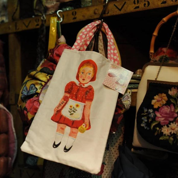 Little Red Riding Hood Tote by Nathalie Lété