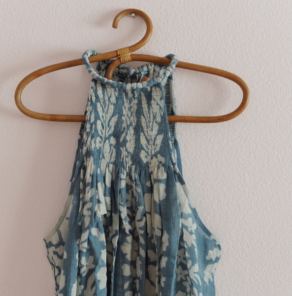 Blue Lagoon Tahiti Woman Sundress