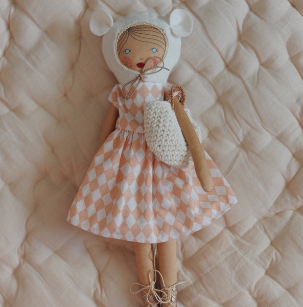 Limited Edition Hand-Made Cloth Doll