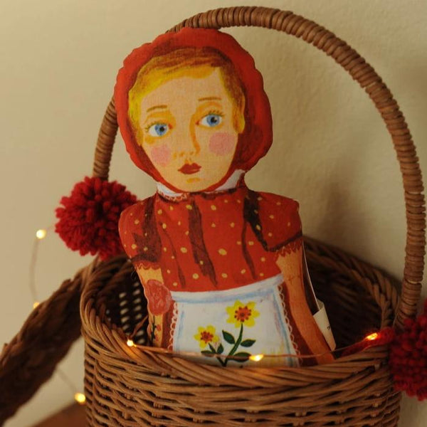Little Red Riding Hood Fabric Doll by Nathalie Lété