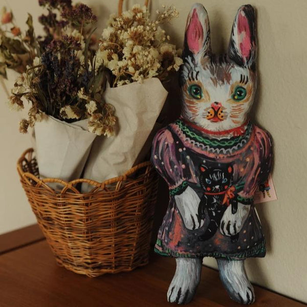 Blanche the Rabbit Fabric Doll by Nathalie Lété
