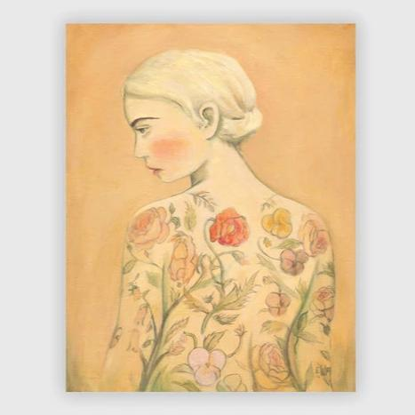 Flora, The Tattooed Girl Print