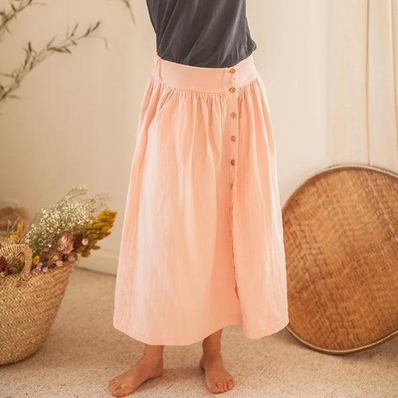 Woman Rose Quartz Skirt