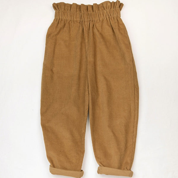 Corduroy Trousers Camel