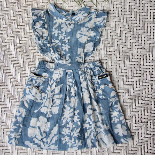 Blue Lagoon Tahiti Apron Dress