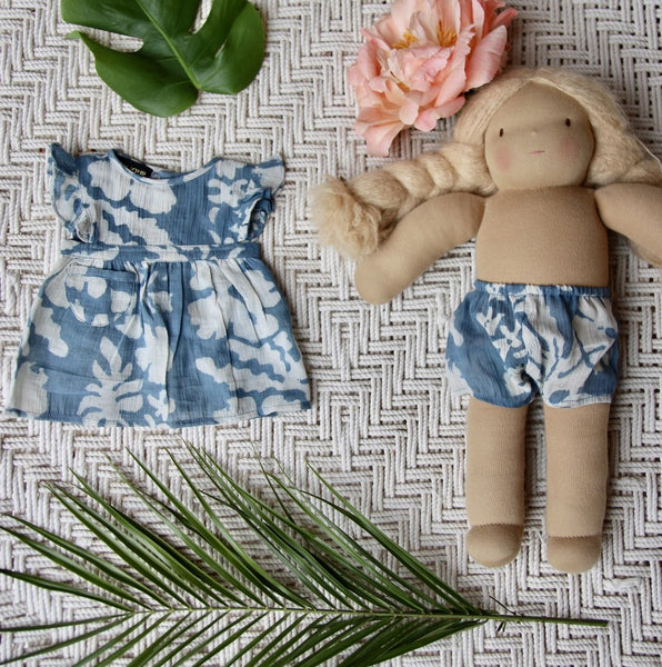 Blue Lagoon Tahiti Doll Dress