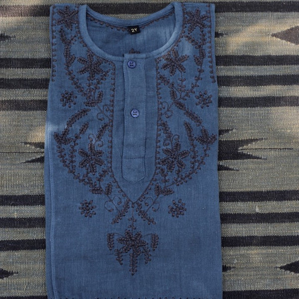 China Blue Kurta Shirt