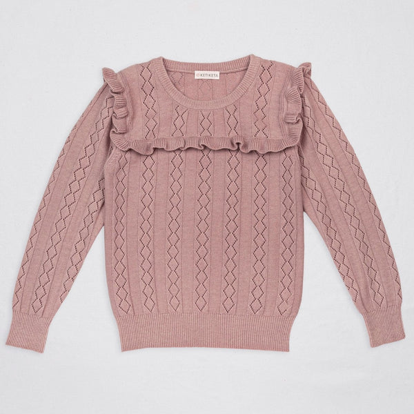 Eloise Sweater Rose