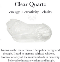 Gem properties of clear quartz