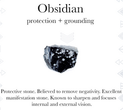 Gemstone properties of Obsidian