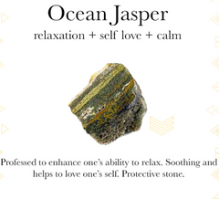 Gemstone properties of Ocean Jasper