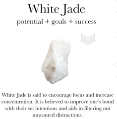gemstone properties of white jade