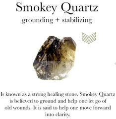 gemstone properties of smokey quartz
