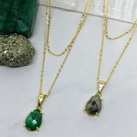 One Lifetime in Pyrite and Emerald