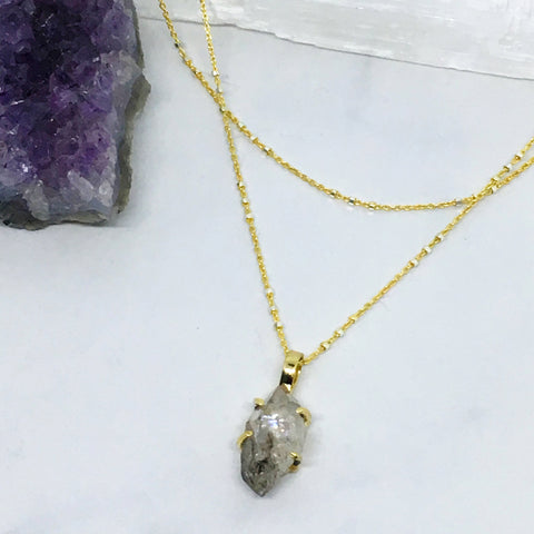 One Lifetime in Herkimer Diamond