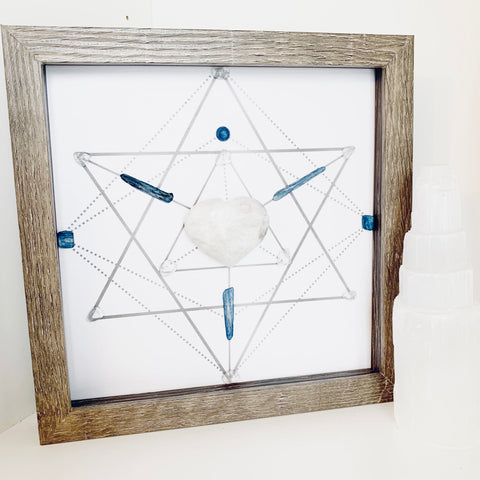 Guiding Light Crystal Grid
