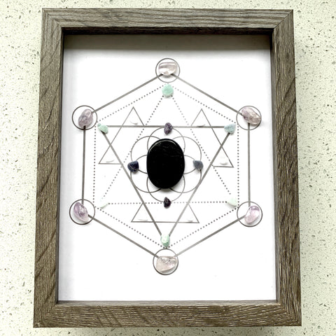 Shield Crystal Grid