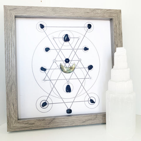 Aegis (Guardian) Crystal Grid