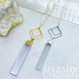 Chosen - Geometric Crystal Necklace