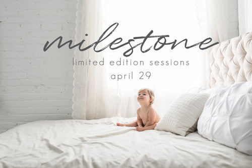 Milestone Limited Edition Sessions