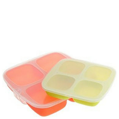 Baby Food Silicone Trays - set of 2