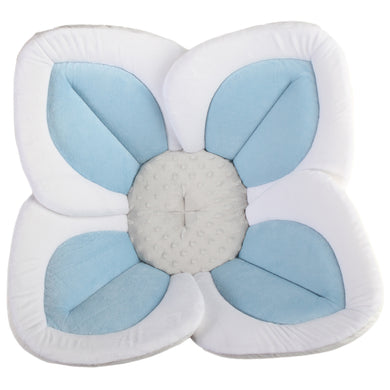 Blooming Bath Lotus - Blue / Gray