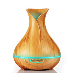 Wood Grain Essential Oil Diffuser and Humidifier