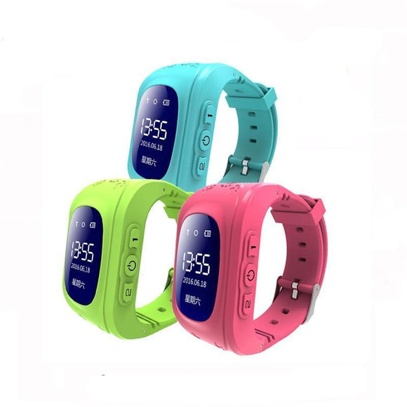 Kids GPS Tracker Smart Watch