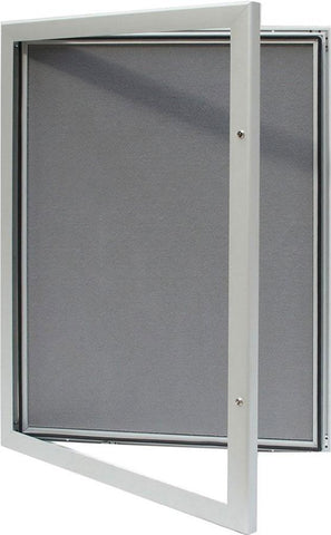 SlimLock Key Lockable Pin Notice Boards