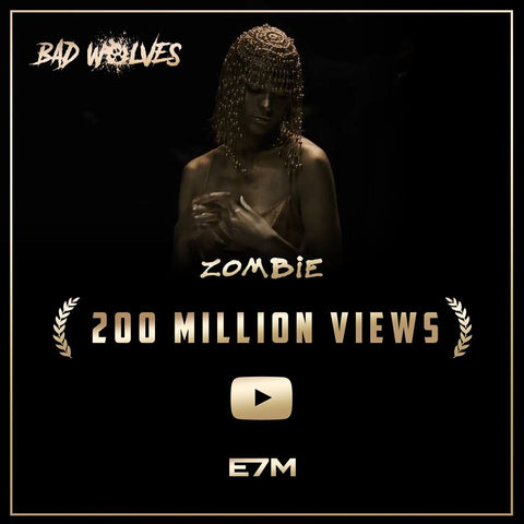 Zombie has passed 200 Million views on YouTube !!