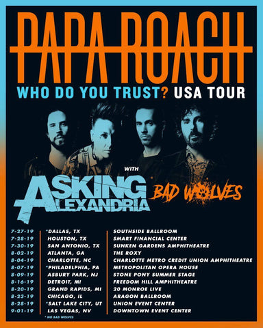 Bad Wolves Joining Papa Roach On Their Who Do You Trust Summer Tour
