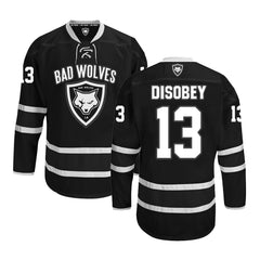 Black & White Hockey Jersey