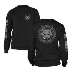 Wolf Emblem Long Sleeve Tee