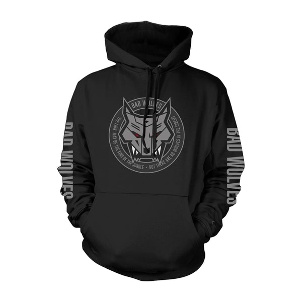 online store 7d023 27528 Wolf Emblem Pullover Hoodie | Labor Day Sale | Bad Wolves Store
