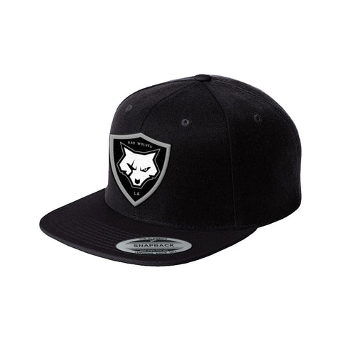 Shield Logo Snapback Hat