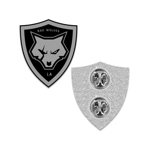 Shield Logo Enamel Pin