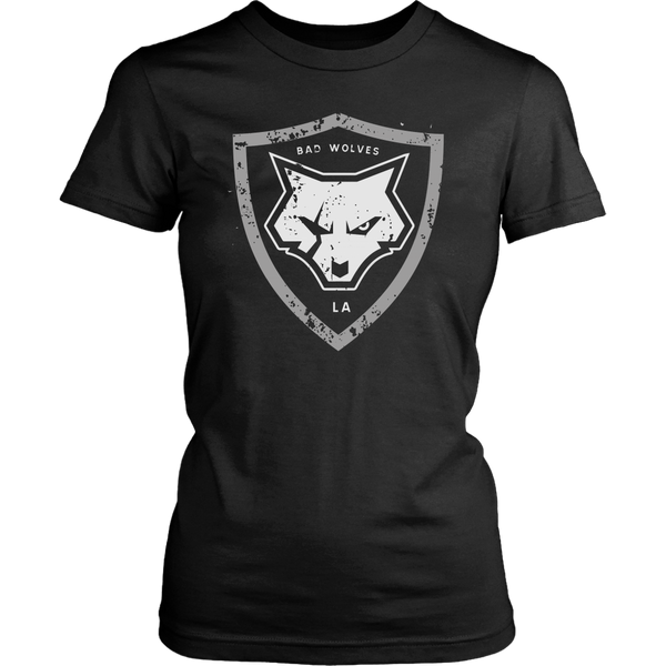 Distressed Shield Women's Tee